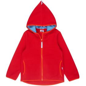 Finkid Paukku Jacket Kinder red/grenadine
